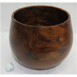 "Koa Wood Bowl, Artist Robert W. Butts, Approx. 10.5"" Dia, 10.5"" Tall"