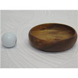 Small Monkey Pod Wood Bowl, Approx. 5  Dia, 2  Tall