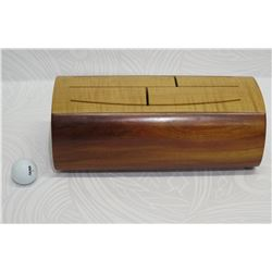 Koa/Maple/Honduran Mahogany Wood Percussion Block, Approx. 13.5  L  x 5.5  Tall