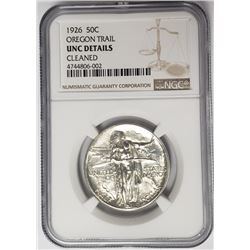 1926 Oregon Trail Commemorative Half Dollar NGC