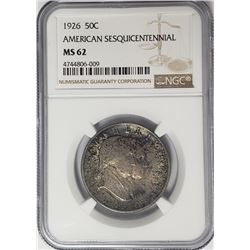 1926 American Sesquicentennial Commem Half $1