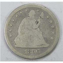 1856-O SEATED QUARTER