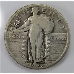 1927-D STANDING LIBERTY QTR