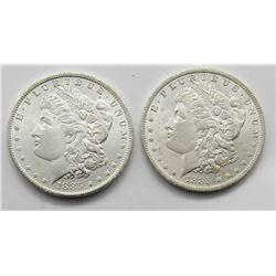 2 - 1885-O MORGAN DOLLARS BU