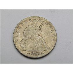 1873 SEATED HALF DOLLAR