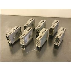 LOT OF MODICON MODULES *PART #'S PICTURED**PARTS / REPAIR ONLY*