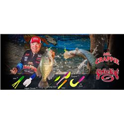 """Full Day Guided Fishing on private lake with Mr Crappie""""Wally Marshall"""""""
