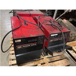(2) Lincoln Power Wave 455M Welders