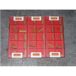 (30) Sandvik #N123G2-0318-0003-GM-4225 Carbide Inserts
