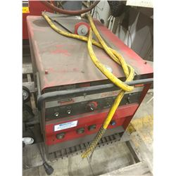 LINCOLN ELECTRIC CV-300 WELDER W/DH-10 DOUBLE HEADER
