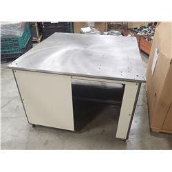 "48"" x 48"" x 33"" Precision Steel Work Table"