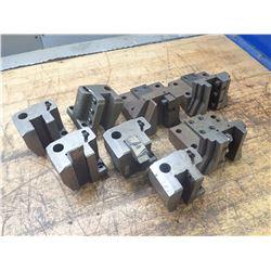 Lot of 8 Misc Turret Tool Blocks