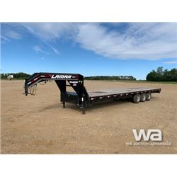 2018 LAMAR 30 FT. TRIDEM FLAT DECK TRAILER