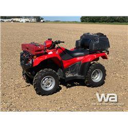 2012 HONDA FOREMAN 500 ATV
