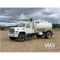 1991 FORD F800 S/A WATER TRUCK