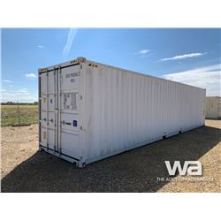 2020 HIGH CUBE 8 X 40 FT. SHIPPING CONTAINER