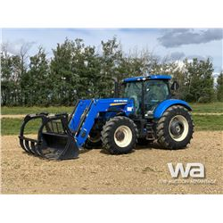 2015 NEW HOLLAND T6.175 MFWD TRACTOR