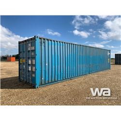 2001 HANJIN 8 X 40 FT. SHIPPING CONTAINER