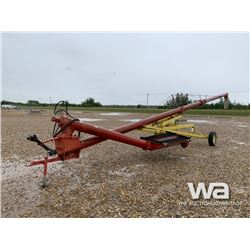 FARM KING 10  X 50 FT. SWING AUGER