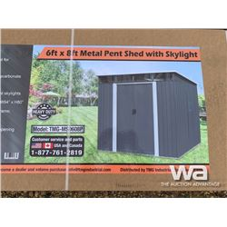 (UNUSED) TMG 6 X 8 FT. SHED