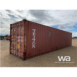2006 8 X 40 FT. HIGH CUBE SHIPPING CONTAINER