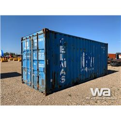 8 X 20 FT. SHIPPING CONTAINER