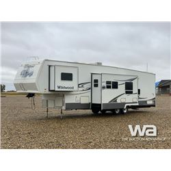 2005 FOREST RIVER WILDWOOD TOY HAULER 5TH WHEEL