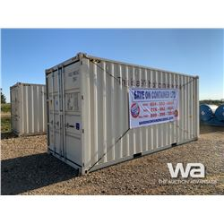 "2020 9'6"" x 20 FT. SHIPPING CONTAINER"