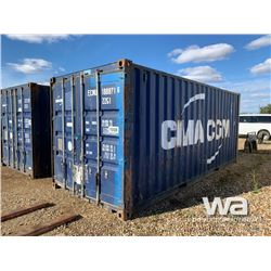 1999 8 X 20 FT. SHIPPING CONTAINER