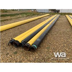 "(3) 10"" X 62' PIPE, (2) 8""X 62' INSULATED PIPE"