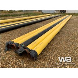 "(4) 10"" X 62' PIPE, (1) 8""X 62' INSULATED PIPE"