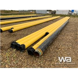 "(5) 8"" X 31'-62'  PIPE, (1) 8""X 31' INSULATED PIPE"