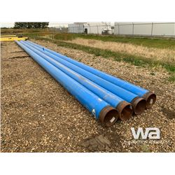 "(4) 12"" X 54'-61' BLUE PIPE"