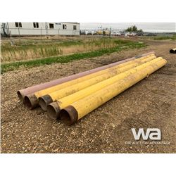 "(5) 12"" X 21'-31' PIPE"