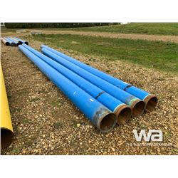 "(4) 12"" X 24'-35' BLUE PIPE"