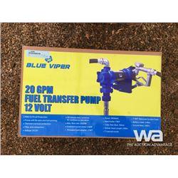BLUE VIPER 20 GPM 12 VOLT FUEL PUMP