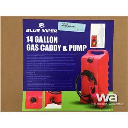 14 GAL. GAS CADDY & PUMP