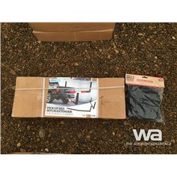 BED EXTENDER HITCH & CARGO NET