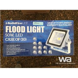 (10) SOLIDFIRE 50W LED FLOOD LIGHT
