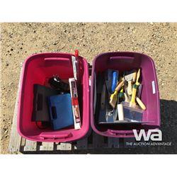 DRY WALL & CONCRETE TOOLS, HEAT & SOLDER GUNS