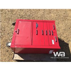 GRAY PRO SERIES RED CABINET