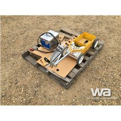24V CHARGER, STRIPING MACHINE, HAND SAWS