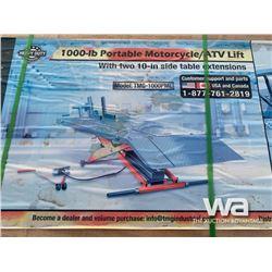 (UNUSED) 1,000 LB MOTORCYCLE LIFT