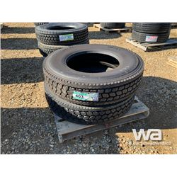 (UNUSED) (2) GRIZZLY 11R24.5 TIRES