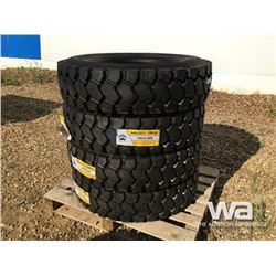 (UNUSED) (4) GRIZZLY 11R22.5 TIRES