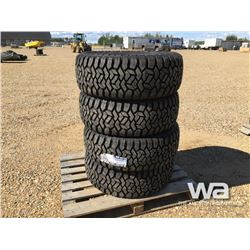 (UNUSED) (4) GRIZZLY 35X12.5R20LT TIRES