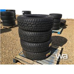 (UNUSED) (4) GRIZZLY 275/65R20 TIRES