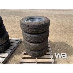 (4) WRANGLER P265/65R18 TIRES & RIMS