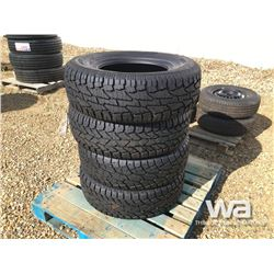 (UNUSED) (4) GRIZZLY 265/70R16 TIRES