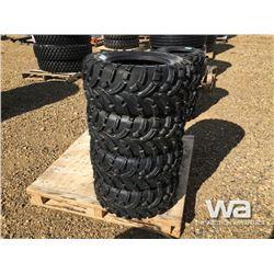 (UNUSED) (4) WANDA 24X10-12 ATV TIRES